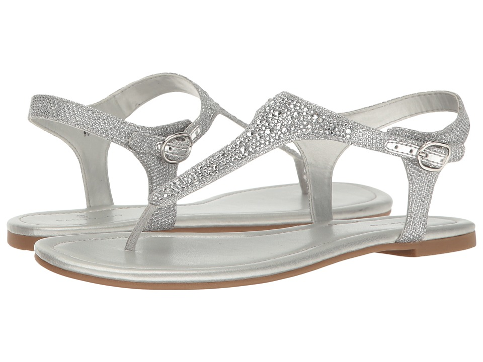 Bandolino Kyrie (Silver Glamour Material) Women