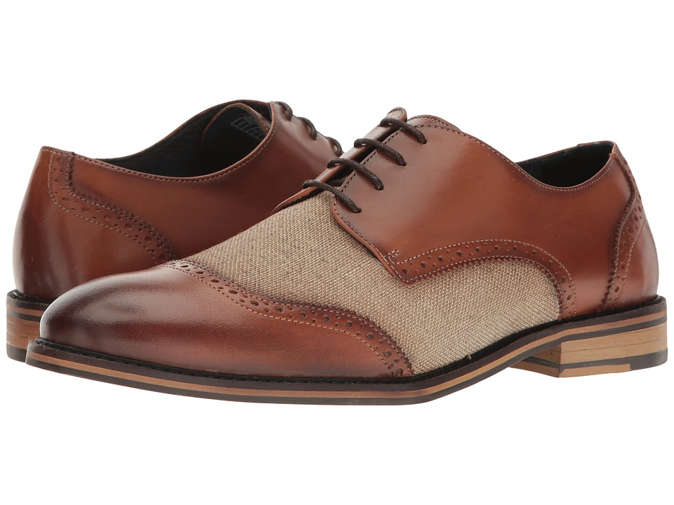 Rockabilly Men's Clothing Original Penguin - Alex TanLinen Mens Lace up casual Shoes $155.00 AT vintagedancer.com
