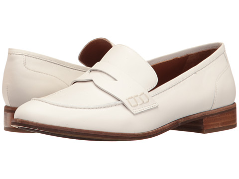 Franco Sarto Jolette - White Lama Tumble Leather