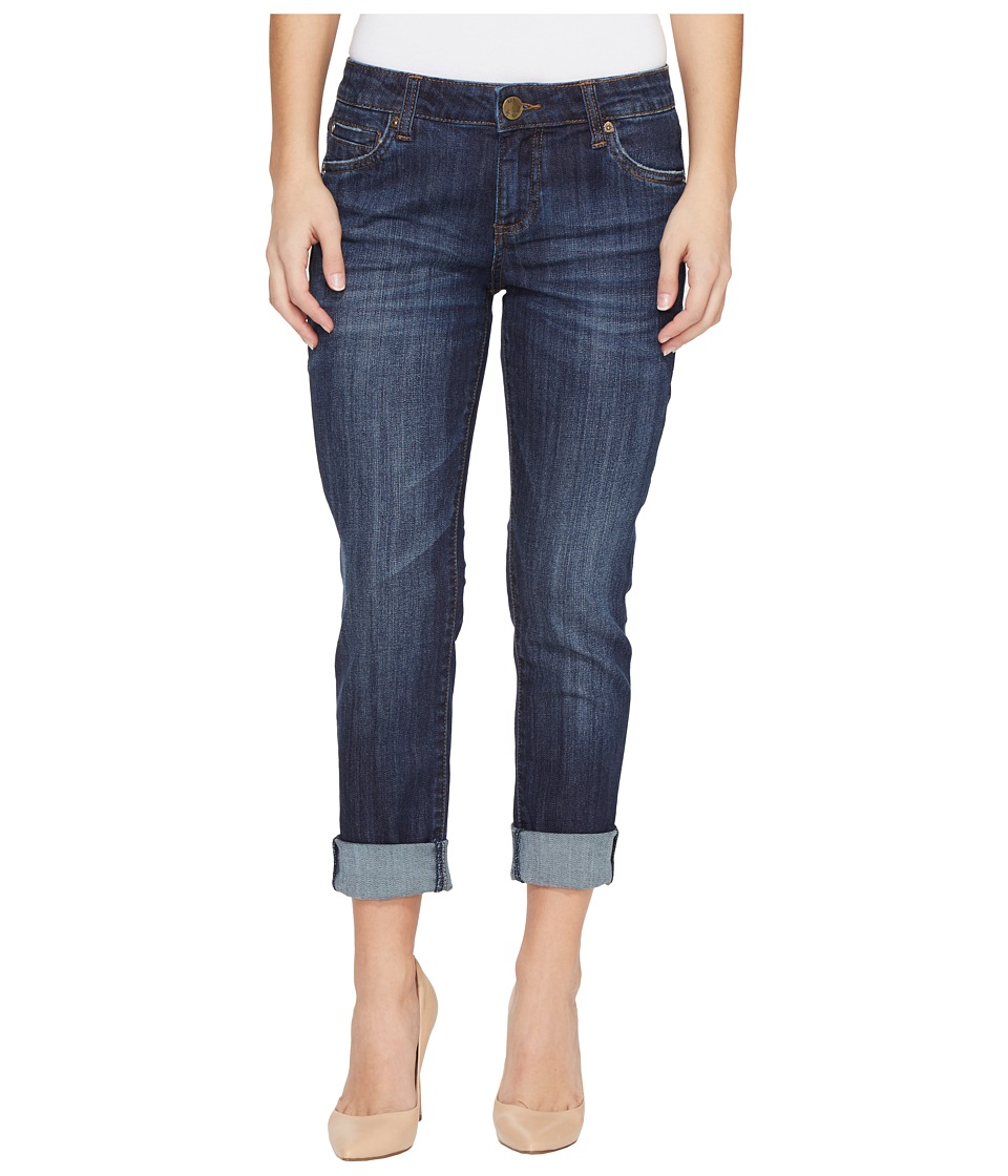 KUT from the Kloth Petite Catherine Boyfriend in Enticement Wash (Enticement Wash) Women