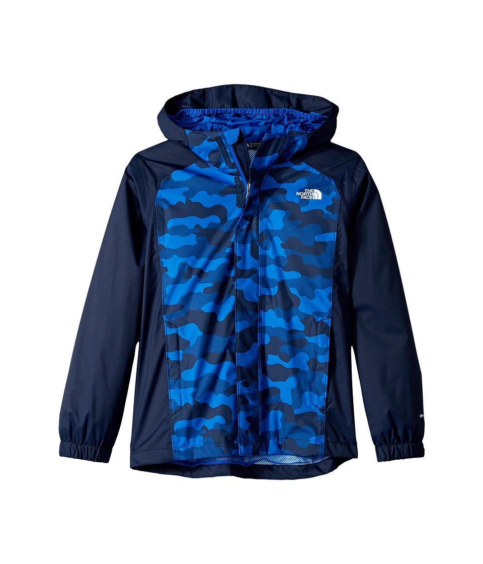 The North Face Kids - Resolve Reflective Jacket (Little Kids/Big Kids) (Cosmic Blue Camo Heather Print (Prior Season)) Boys Coat