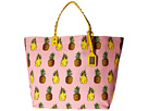 Dolce & Gabbana - Pineapple Beatrice Tote with Studded Handle
