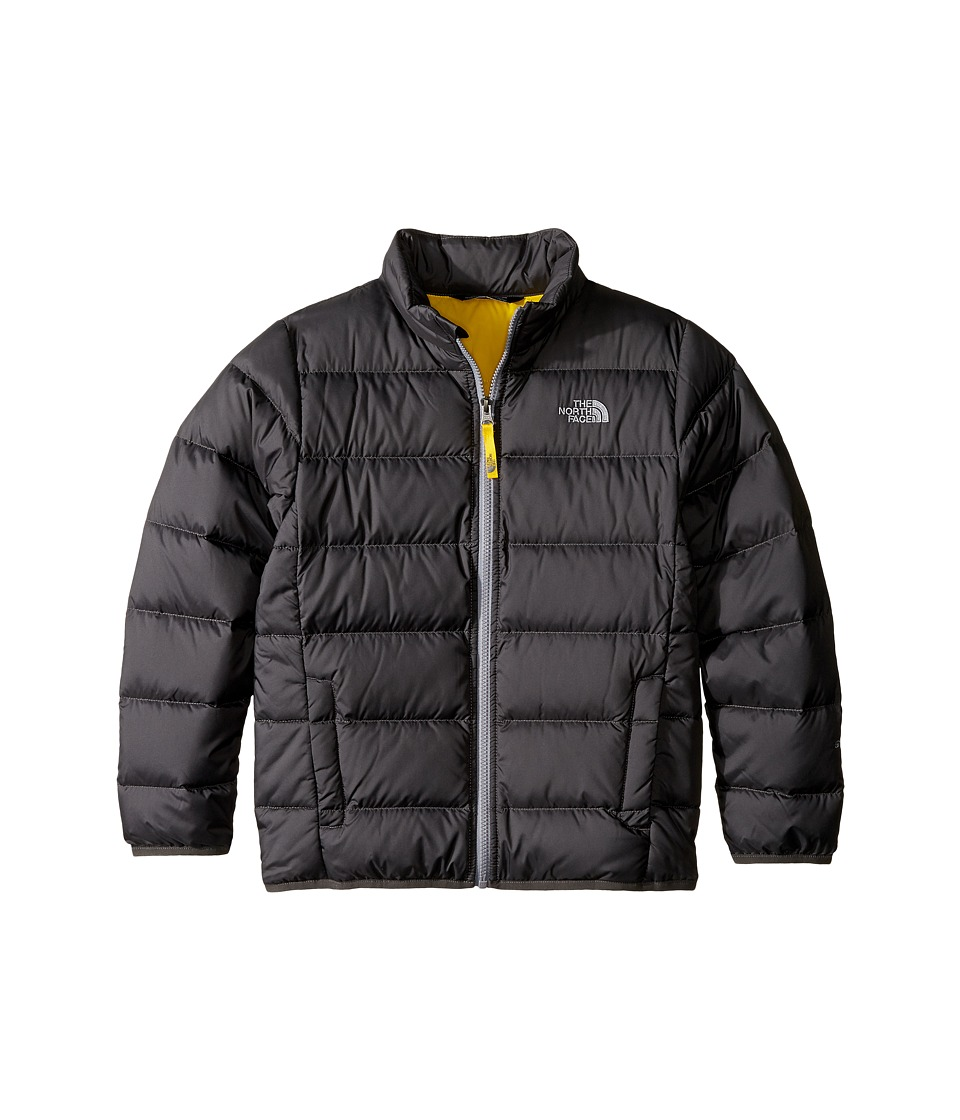 The North Face Kids - Andes Jacket (Little Kids/Big Kids) (Graphite Grey/Canary Yellow (Prior Season)) Boys Coat