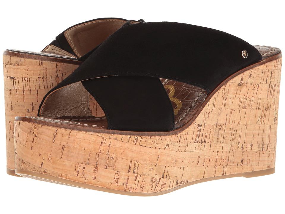 Sam Edelman - Darlene (Black Kid Suede Leather) Womens Shoes