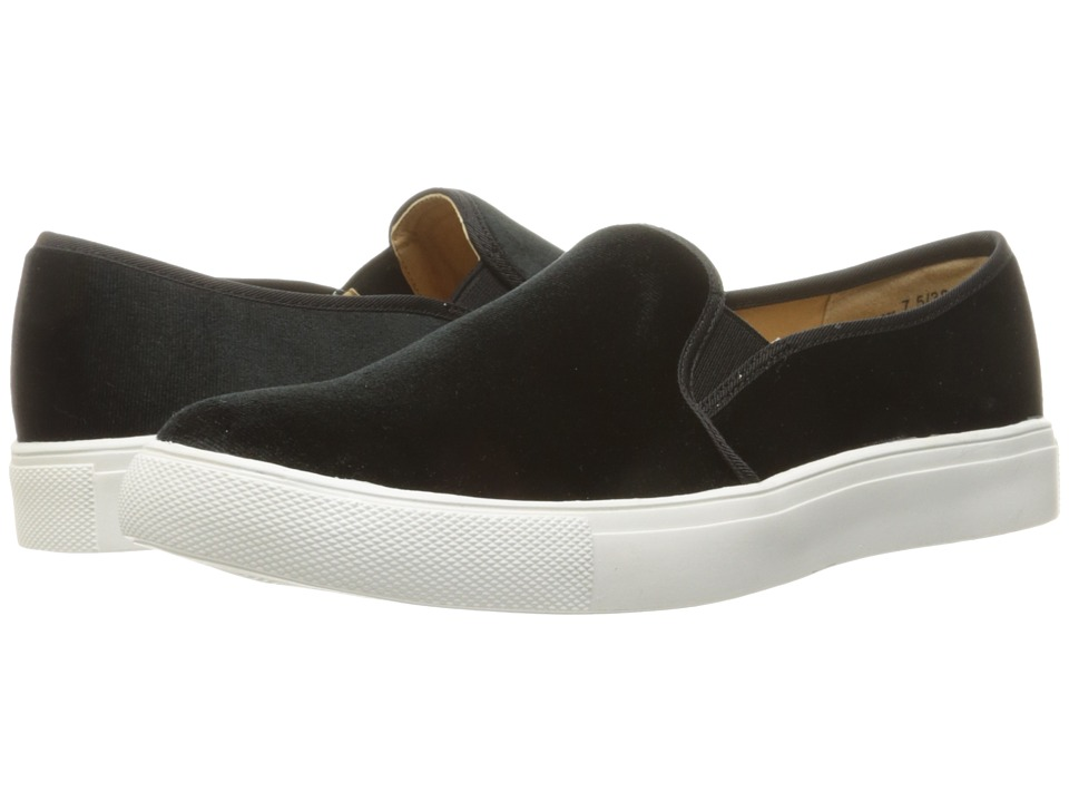Dirty Laundry Franklin Velvet Sneaker (Black Rich Velvet) Women