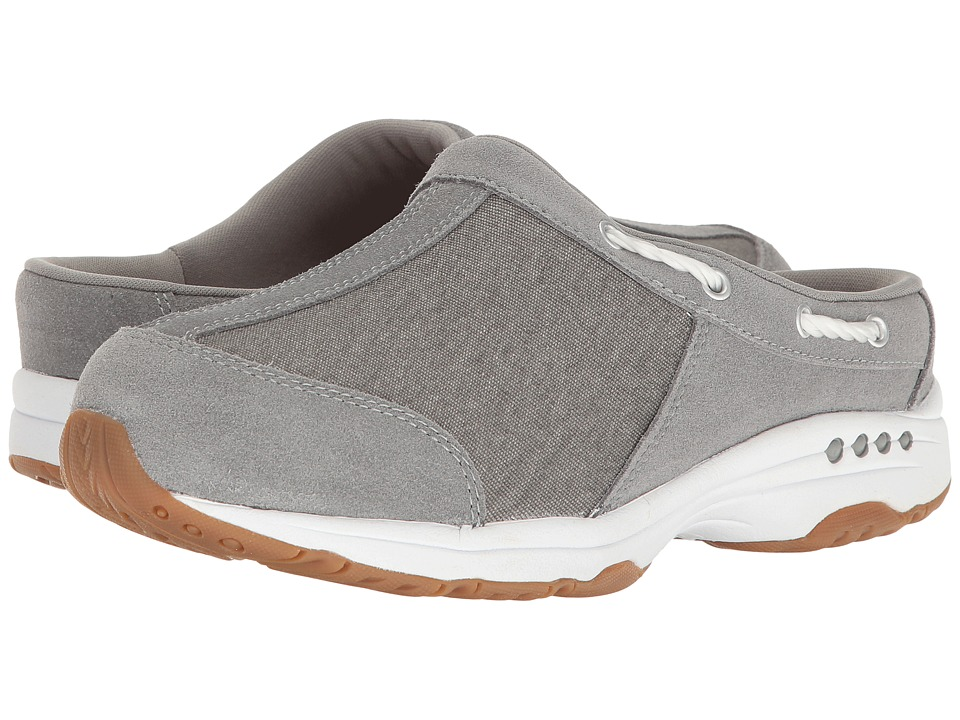 Easy Spirit - Travelport 23 (Grey/Grey Suede) Womens Shoes