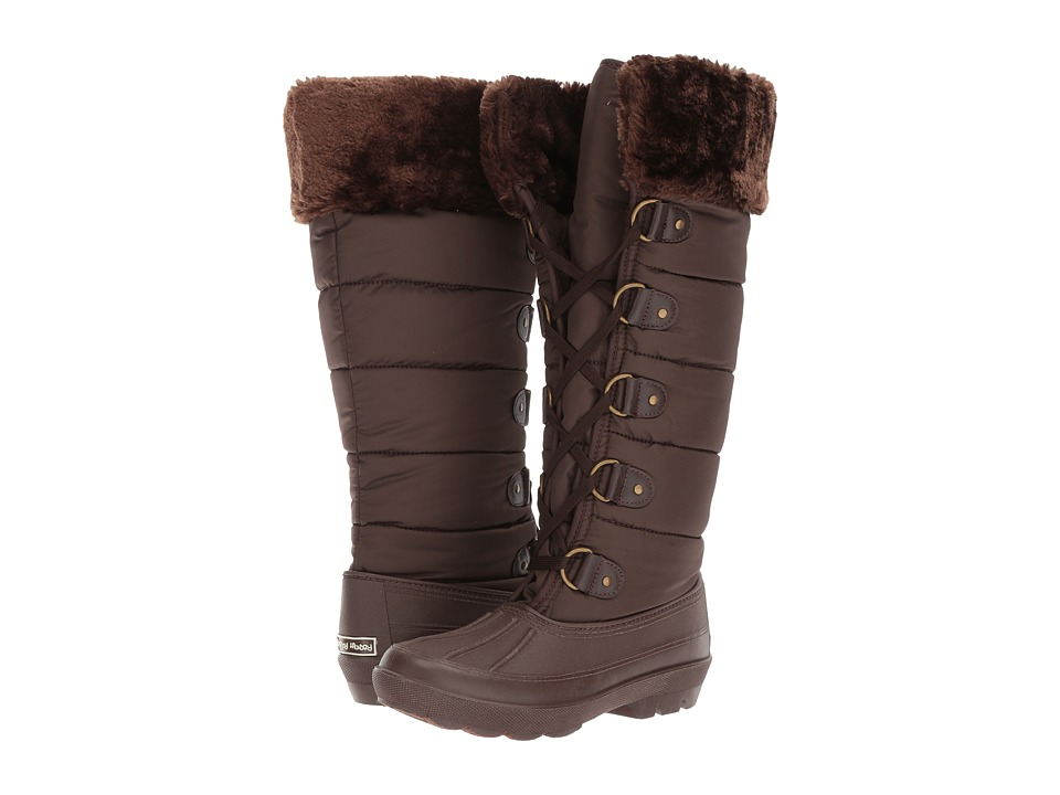 Dirty Laundry Bear Hug (Dark Brown Matte Nylon) Women