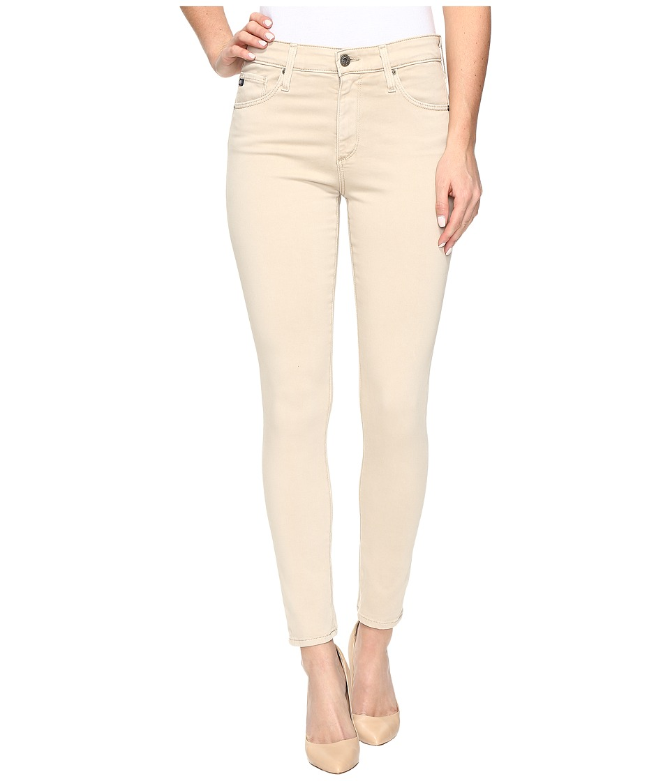 Image of AG Adriano Goldschmied - Farrah Crop in Sulfur Granola (Sulfur Granola) Women's Jeans
