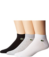 Lacoste - 3-Pack Jersey Ped Socks