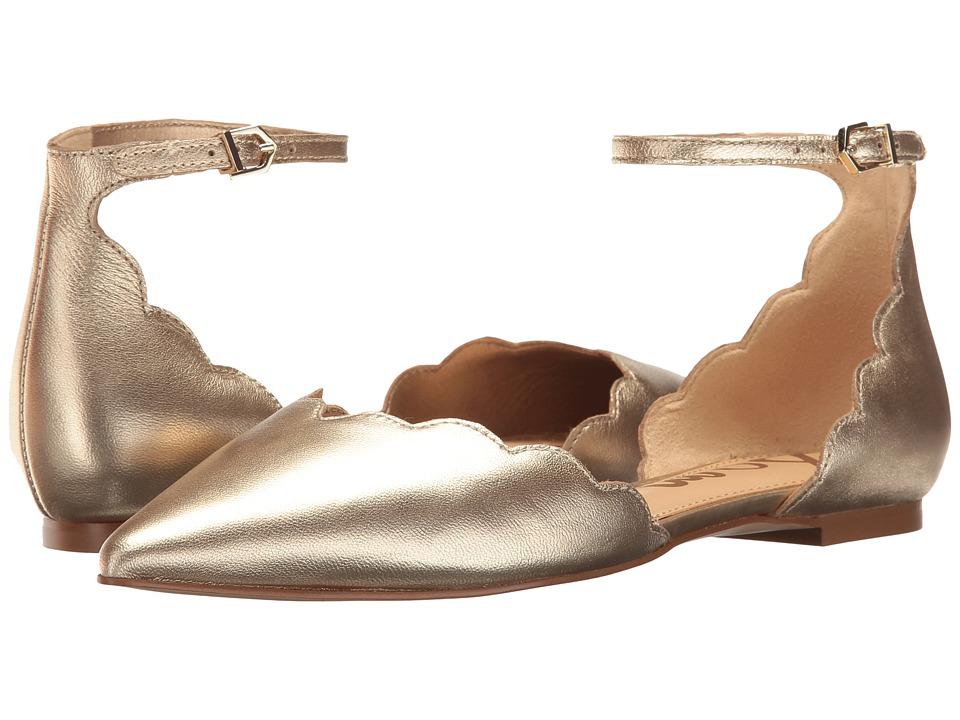 Sam Edelman - Rowan (Molten Gold) Womens 1-2 inch heel Shoes
