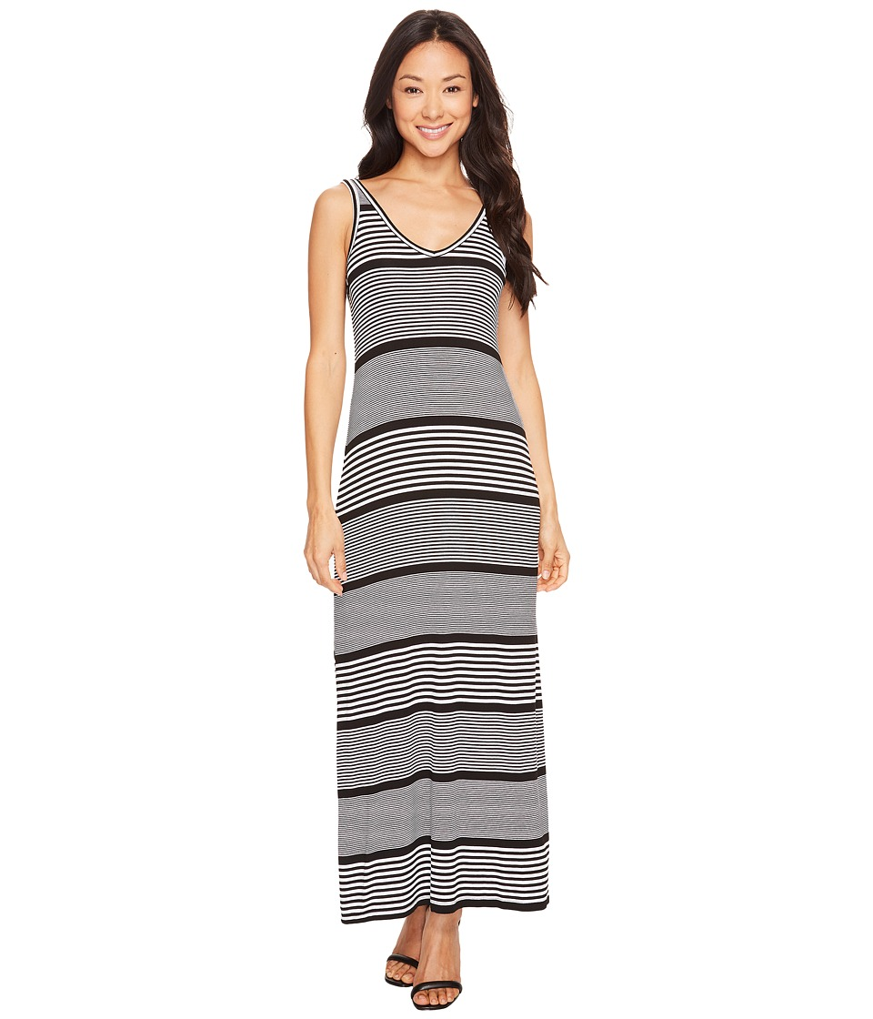 Karen Kane Alana Maxi Dress (Stripe) Women