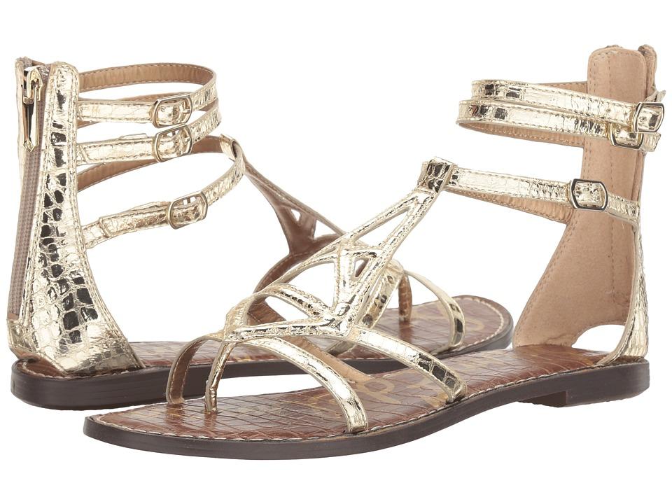 Sam Edelman - Goldie (Jute Mini Croco Metallic) Womens Shoes
