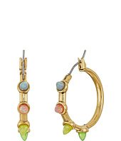 Rebecca Minkoff - Rainbow Spear Hoop Earrings