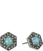 Rebecca Minkoff - Opal Hex Stud Earrings