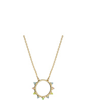 Rebecca Minkoff - Rainbow Spear Pendant Necklace