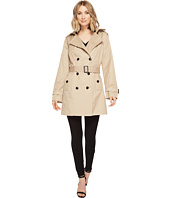 MICHAEL Michael Kors - Classic Double Breasted Trench w/ Hood M722081R74