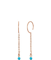 Rebecca Minkoff - Baby Hoop Threader Earrings