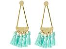 Rebecca Minkoff - Geo Tassel Chandeliers Earrings