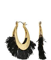 Rebecca Minkoff - Palm Tassel Hoops Earrings