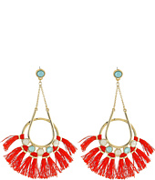 Rebecca Minkoff - Utopia Tassel Chandeliers Earrings