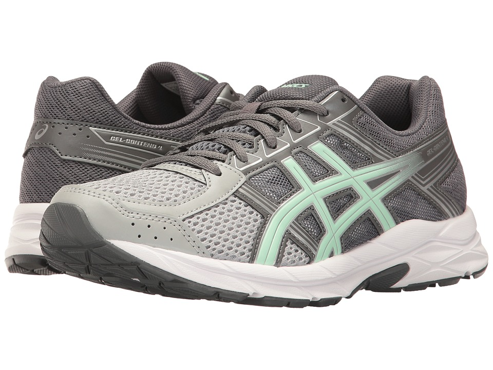 ASICS GEL-Contend 4 (Mid Grey/Glacier Sea/Silver) Women's Running Shoes