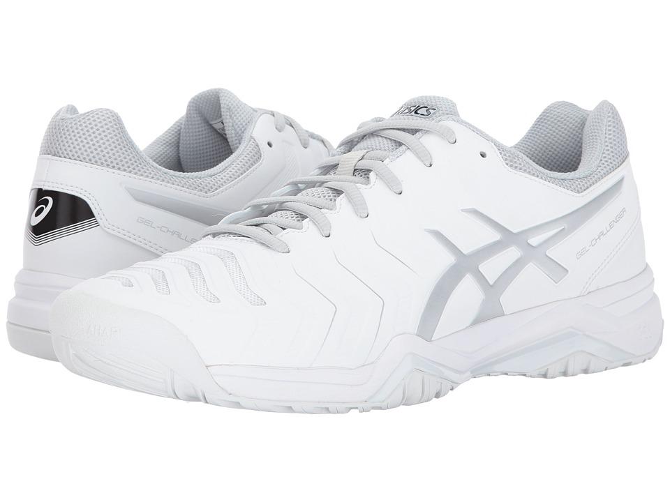 Asics Gel-Challenger 11 (White/Silver) Men's Tennis Shoes