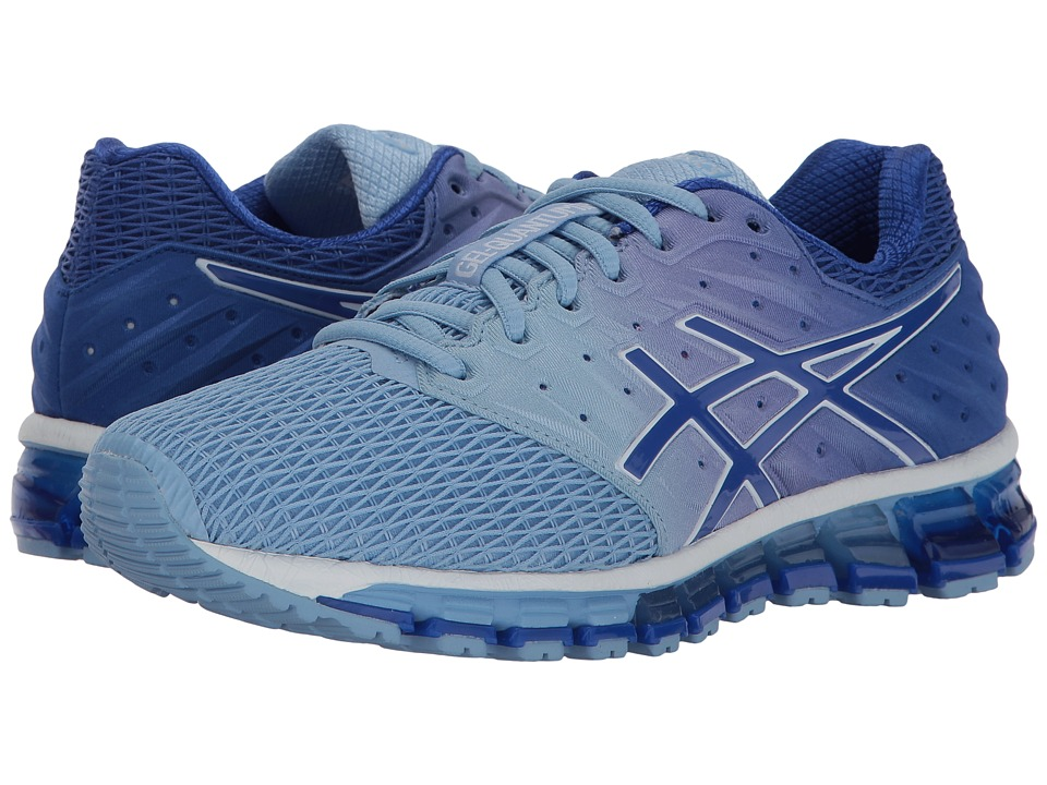 ASICS - Gel-Quantum(r) 180 2 (Airy Blue/Blue/Purple/White) Womens Running Shoes