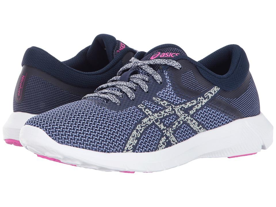 ASICS - Nitrofuze 2 (Persian Jewel/Glacier Grey/Pink Glow) Womens Running Shoes