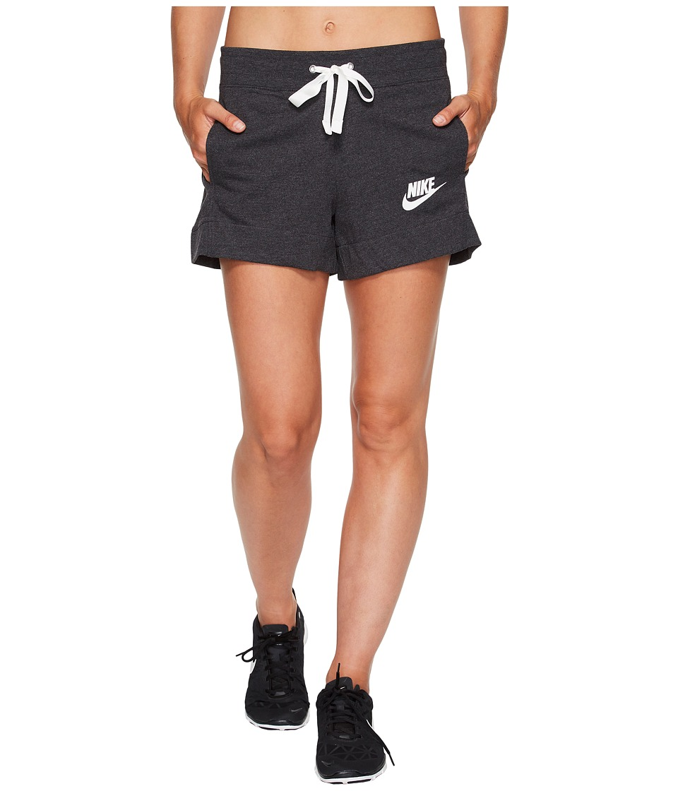 Nike Sportswear Gym Classic Short (Black Heather/Sail) Women