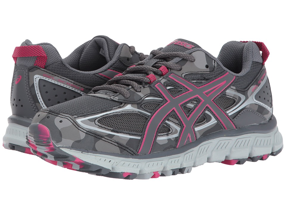 ASICS Gel-Scram 3 (Carbon/Carbon/Cosmo Pink) Women's Running Shoes