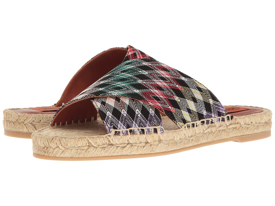 Missoni - Cross Band Espadrille Slide