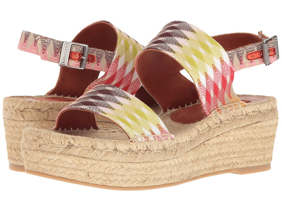 Missoni Double Band Flatform (Multi) Women
