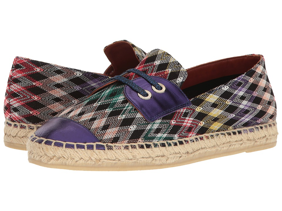 Missoni Faux Lace Front Espadrille (Multi) Women