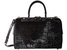Alice + Olivia Croc Embossed Haircalf Eloise Bowler Bag