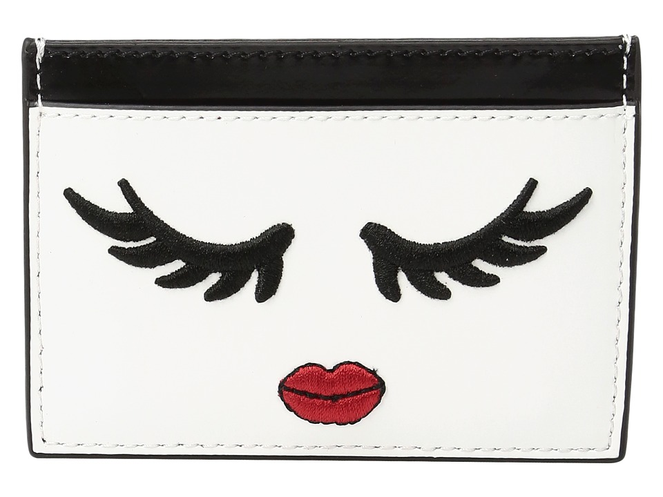 Alice + Olivia - Winking Stace Face Card Case