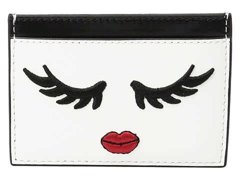 Alice + Olivia Winking Stace Face Card Case