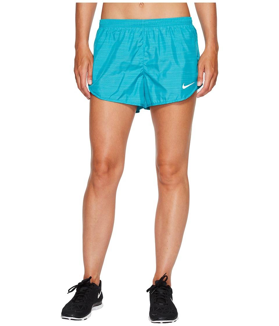 Nike Modern Tempo 3 Printed Running Short (Turbo Green/Turbo Green) Women