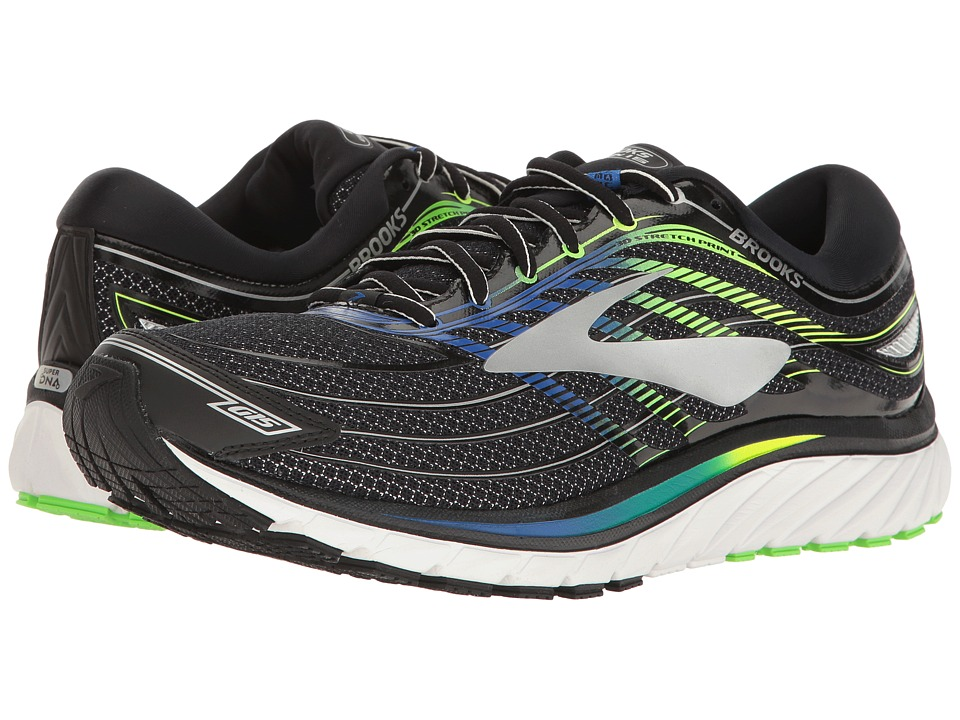 Brooks - Glycerin(r) 15 (Black/Electric Brooks Blue/Green...