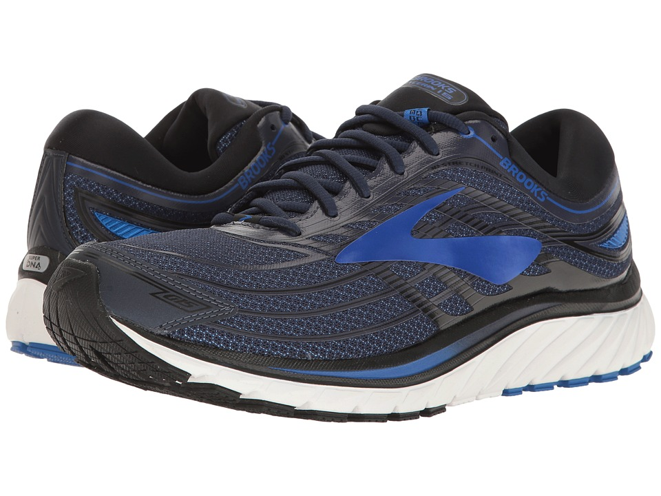 BROOKS Glycerin(r) 15 (Peacoat Navy/Electric Brooks Blue/...