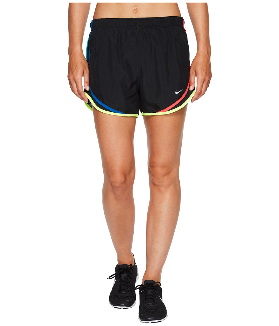 Nike Dry Tempo Short (Black/Black/Blue Jay/Wolf Grey) Women