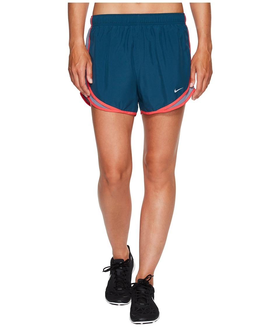 Nike Dry Tempo Short (Space Blue/Armory Blue/Wolf Grey) Women