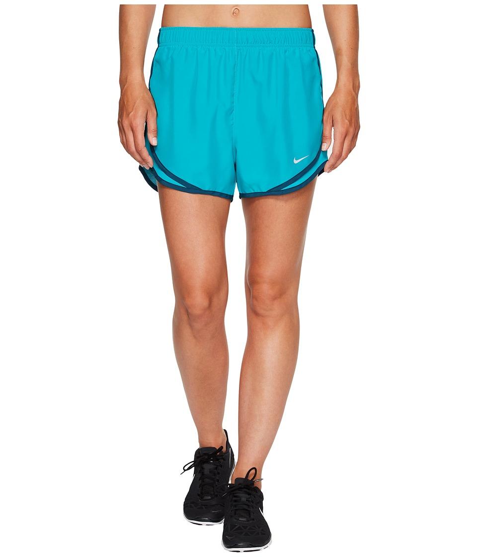 Nike Dry Tempo Short (Turbo Green/Turbo Green/Wolf Grey) Women