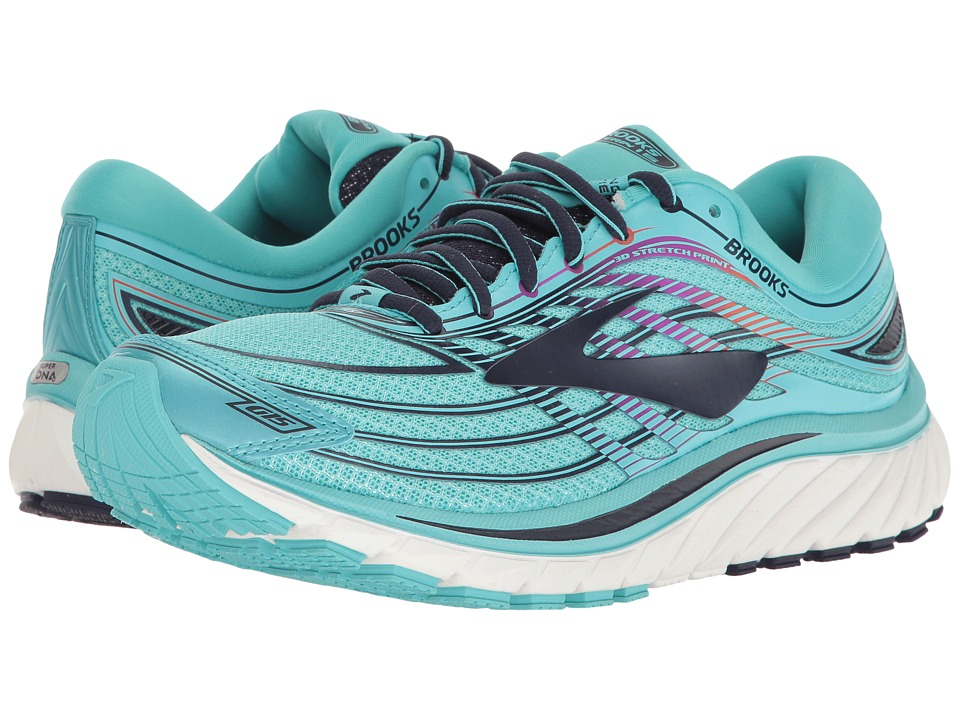 Brooks - Glycerin(r) 15 (Capri/Evening Blue/Purple Cactus...