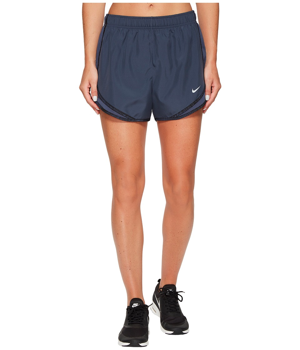 Nike Dry Tempo Short (Thunder Blue/Black/Wolf Grey/Wolf Grey) Women