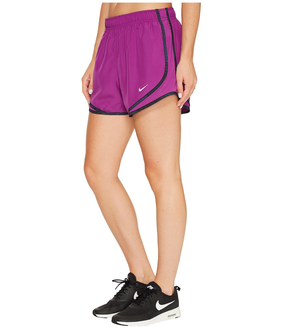 Nike Dry Tempo Short (Bold Berry/Black/Wolf Grey/Wolf Grey) Women