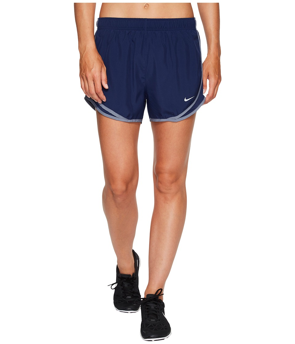 Nike Dry Tempo Short (Binary Blue/Binary Blue/Wolf Grey) Women