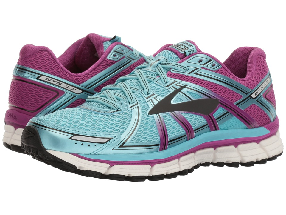 brooks adrenaline black womens