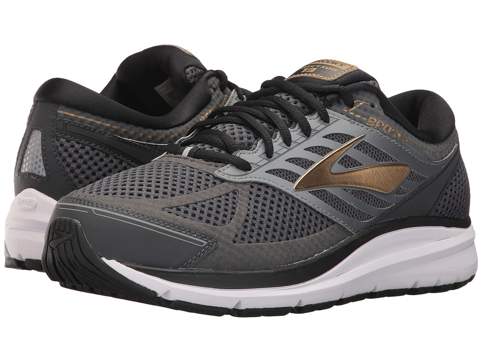 Brooks - Addiction 13 (Black/Ebony/Metallic Gold) Mens Running Shoes