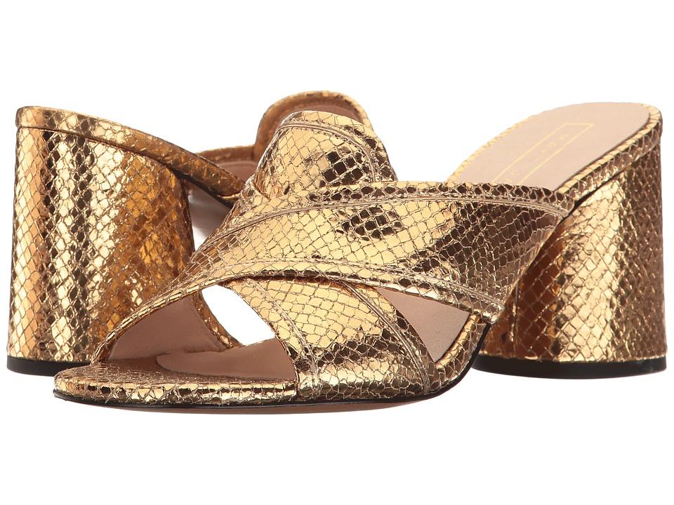 Marc Jacobs Aurora Mule (Gold) Women