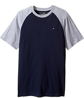 Tommy Hilfiger Kids - Gordon Short Sleeve Raglan Tee (Big Kids)